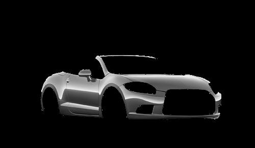 Цвета кузова Eclipse Spyder